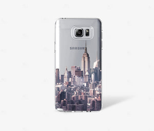 New York City Clear iPhone Case - bycsera