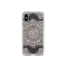 Load image into Gallery viewer, Pearl Mandala Clear iPhone Case