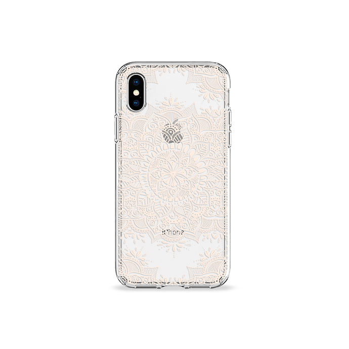 Pearl Mandala Clear iPhone Case,CSERA