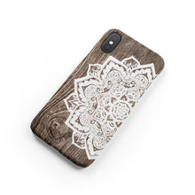 Load image into Gallery viewer, Oak Mandala Snap iPhone Case