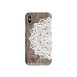 Oak Mandala Snap iPhone Case