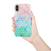 Load image into Gallery viewer, Ombre Hex Snap iPhone Case,CSERA
