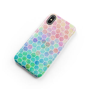 Ombre Hex Snap iPhone Case,CSERA
