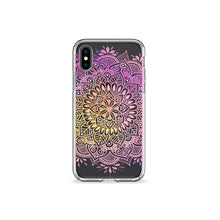 Load image into Gallery viewer, Oleander Mandala Clear iPhone Case,CSERA
