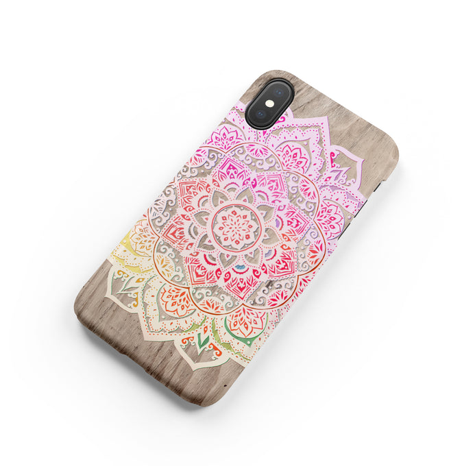 Ombre Mandala Snap iPhone Case,CSERA