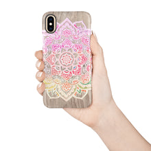 Load image into Gallery viewer, Ombre Mandala Snap iPhone Case - bycsera