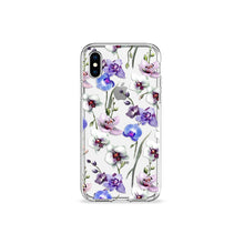 Load image into Gallery viewer, Orchids Clear iPhone Case - bycsera