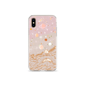 Other Worlds Clear iPhone Case