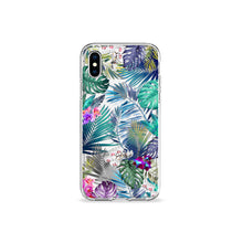 Load image into Gallery viewer, Tropical Medley Clear iPhone Case,CSERA