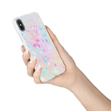 Load image into Gallery viewer, Pastel Splatter Snap iPhone Case - bycsera
