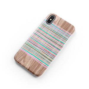 Sorbet Stripes Snap iPhone Case,CSERA