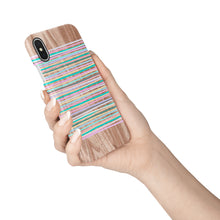 Load image into Gallery viewer, Sorbet Stripes Snap iPhone Case - bycsera