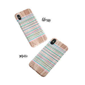 Sorbet Stripes Snap iPhone Case - bycsera
