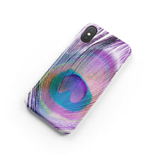 Load image into Gallery viewer, Peacock Snap iPhone Case
