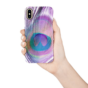 Peacock Snap iPhone Case - bycsera