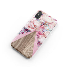 Load image into Gallery viewer, Lady Slipper Pink Snap iPhone Case - bycsera