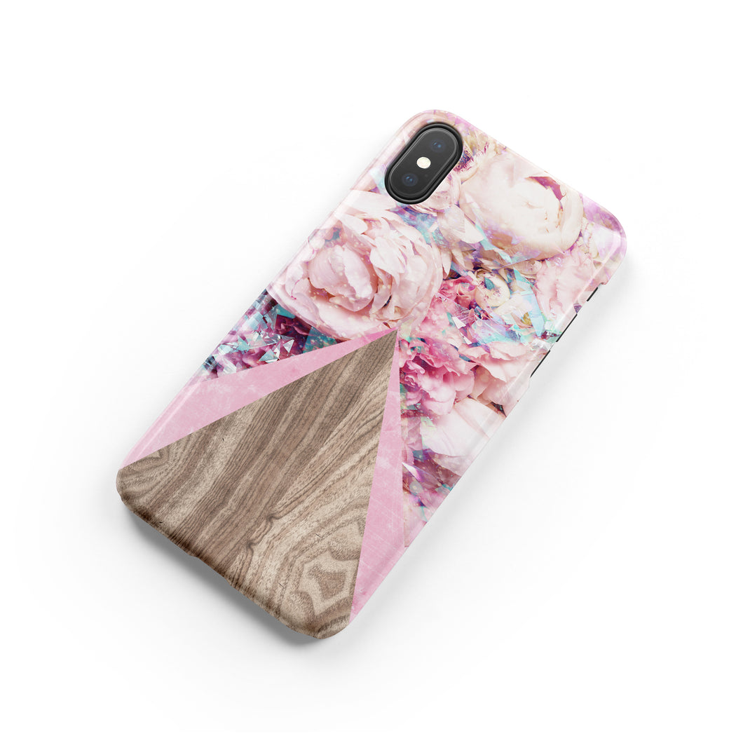 Lady Slipper Pink Snap iPhone Case - bycsera