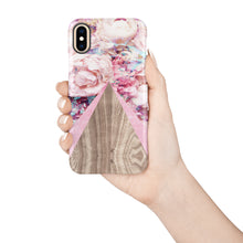 Load image into Gallery viewer, Lady Slipper Pink Snap iPhone Case,CSERA