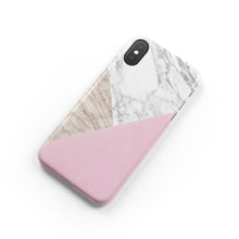 Load image into Gallery viewer, Marzipan Marble Snap iPhone Case