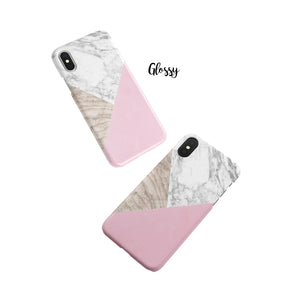 Marzipan Marble Snap iPhone Case
