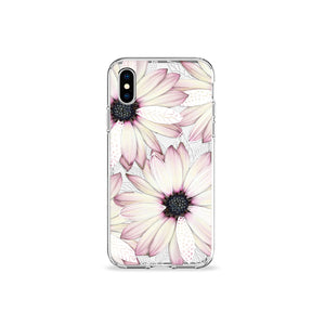 Parfait Gerbera Clear iPhone Case