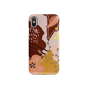 Peachy Creamy Snap iPhone Case,CSERA