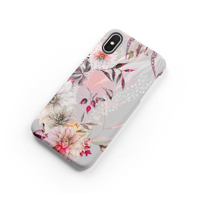 Rosehip Snap iPhone Case - bycsera