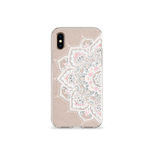Load image into Gallery viewer, Sand Mandala Clear iPhone Case - bycsera