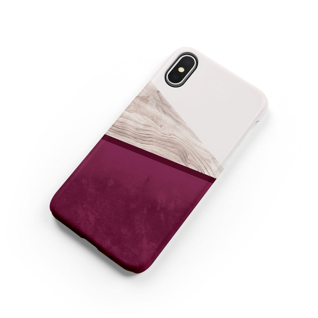 Sangria Snap iPhone Case - bycsera