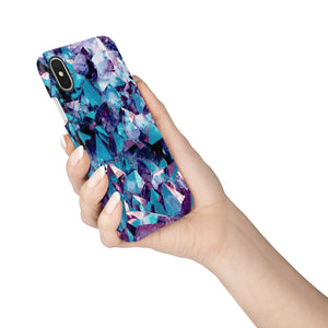 Sapphire Snap iPhone Case - bycsera