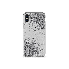 Load image into Gallery viewer, Confetti Grey Clear iPhone Case - bycsera