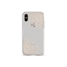Load image into Gallery viewer, Confetti Grey Clear iPhone Case,CSERA