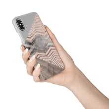 Load image into Gallery viewer, Silver Wood Snap iPhone Case,CSERA