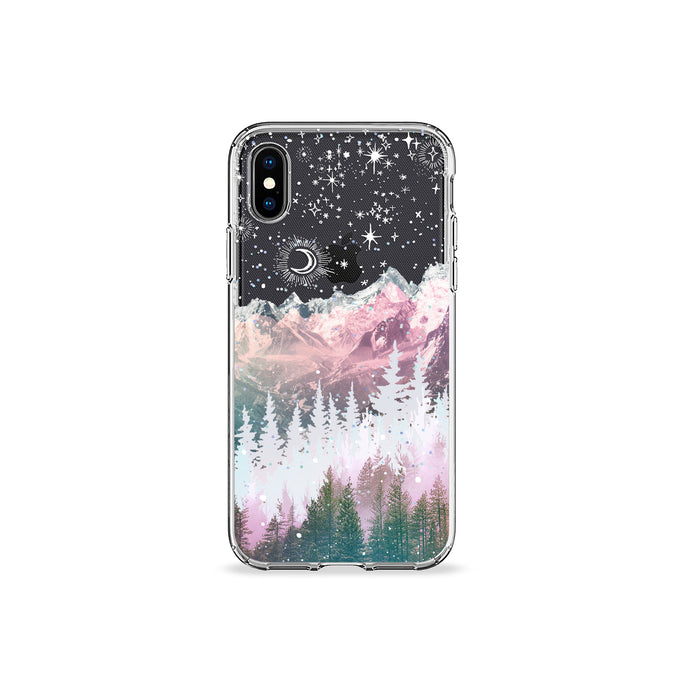 The Night Sky Clear iPhone Case,CSERA