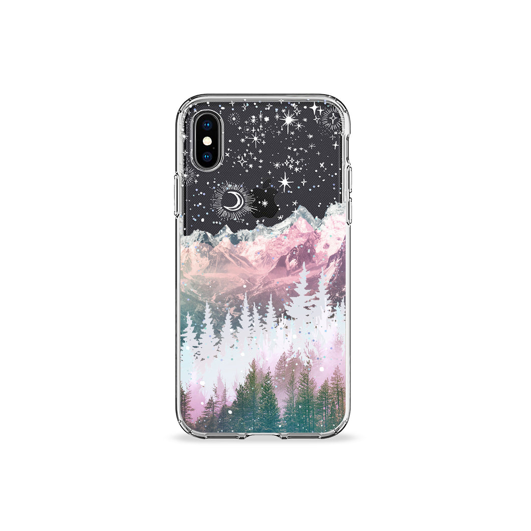 The Night Sky Clear iPhone Case - bycsera