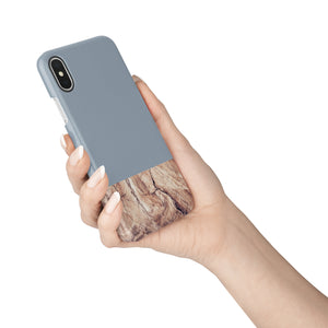 Stone Blue Snap iPhone Case,CSERA