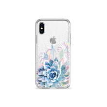 Load image into Gallery viewer, Succulent Garden Clear iPhone Case,CSERA