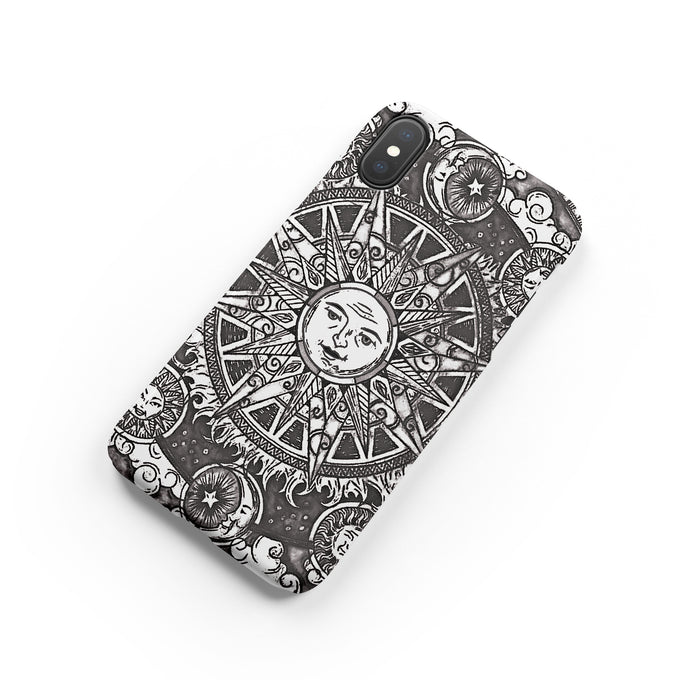 Sun and Moon Snap iPhone Case - bycsera