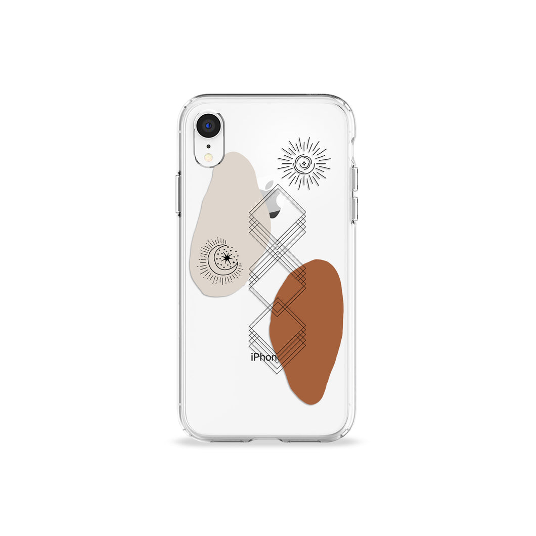 To The Moon And Back Clear iPhone Case,CSERA