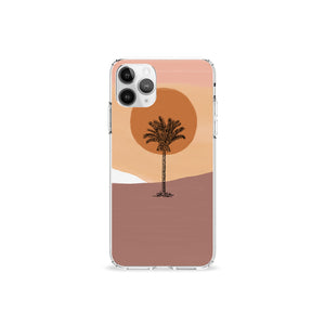 Desert Dreams Clear iPhone Case