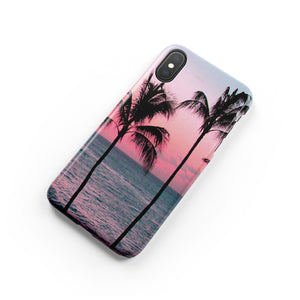 Cali Palms Snap iPhone Case - bycsera