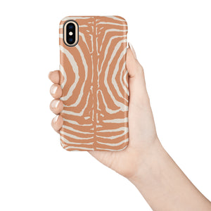 Zebra Snap iPhone Case - bycsera
