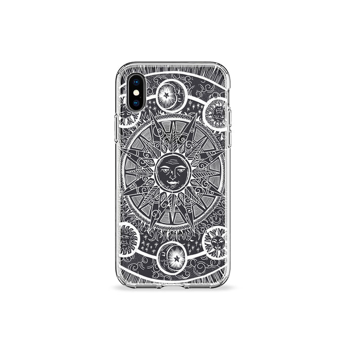 Tarot Clear iPhone Case - bycsera