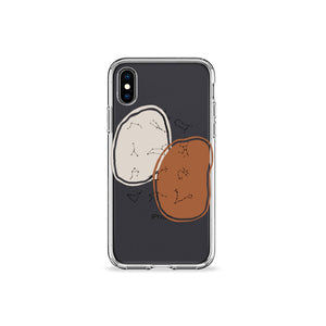 Terracotta Zodiac Clear iPhone Case,CSERA