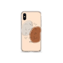 Load image into Gallery viewer, Terracotta Zodiac Clear iPhone Case,CSERA