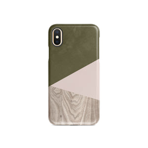 Terrarium Moss Wood Snap iPhone Case,CSERA