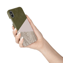 Load image into Gallery viewer, Terrarium Moss Wood Snap iPhone Case - bycsera