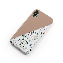 Load image into Gallery viewer, Toffee Terrazzo Snap iPhone Case,CSERA