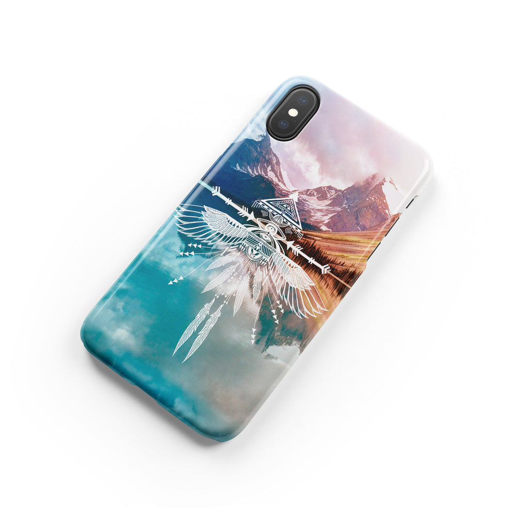Wild and Free Snap iPhone Case - bycsera