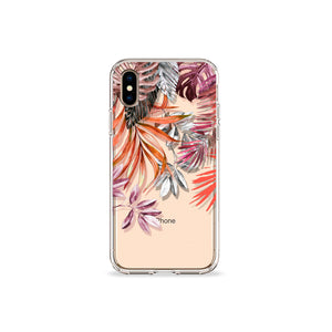 Fall In The Tropics Clear iPhone Case,CSERA